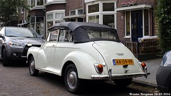 Morris Minor 1000 Tourer 1968 (XBXG) Tags: auto old uk england holland classic haarlem netherlands car vintage automobile nederland convertible voiture british 1968 morrisminor morris minor cabrio paysbas 1000 engeland ancienne roadster cabriolet tourer anglaise ar0999