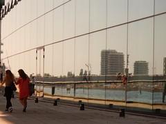 Copenhagen (simo2582) Tags: travel girls reflection glass copenhagen denmark europe contemporary scandinavia curtainwall