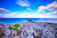 Lovely Coast of Capo Gallo on Sicily (AndiZ275) Tags: travel sea italy cliff storm tourism nature water clouds landscape outdoors gallo coast fantastic rocks dramatic sicily lovely capo