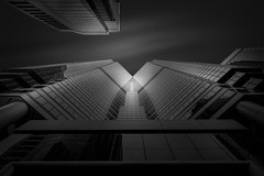 Urban Perspective (.Randy.) Tags: bw building design skyscaper