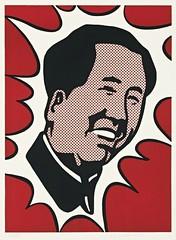 """ Mao "" 1973 by Roy Liechtenstein / Pop Art (lalek72.popart) Tags: art popart mao royliechtenstein popartculture"