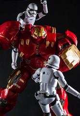 Hulkbuster vs Stormtroopers part 1 (Vimlossus) Tags: toy starwars action stormtroopers figure marvel hulkbuster