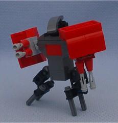Daemon 3 (Mantis.King) Tags: lego scifi futuristic mecha daemon mech moc microscale mechaton mfz mf0 mobileframezero