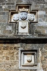 Auberge de la langue de Provence - Rhodes (yann.dimauro) Tags: gr rodos grce egeo