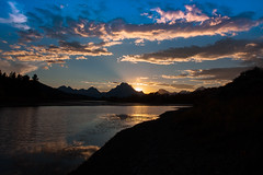 Grand Tetons (blackhawk32) Tags: sunset landscape grandtetons oxbowbend