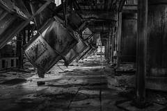 DSC_1530B (Quiet Storm!) Tags: nikond4 quietstormphotography quietstorm oscarrivera blackwhite bw abandon urbandecay urban urbana baltimoremd factory