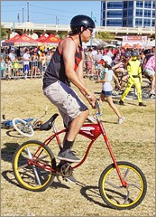 5057 (AJVaughn.com) Tags: park new arizona people beach beer colors bike bicycle sport alan brewing de james tour belgium bright cosplay outdoor fat parade bicycles vehicle athlete vaughn tempe 2014 custome ajvaughn