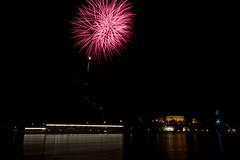 an awesome night ;) (Jules Marco) Tags: night canon river austria sterreich ship nightshot fireworks nacht fluss schiff danube niedersterreich nachtaufnahme waldviertel summersolstice donau feuerwerk loweraustria sonnwendfeier drnstein woodquarter sommersonnenwende eos600d tamron18270mmf3563diiivcpzd