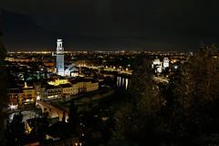 Verona by night 2 (Spongebobteo) Tags: light italy night view verona nightlight nightphoto notturna romeoandjuliet veneto loveitaly longhexposure loveverona