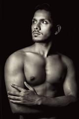 Sharfaraz #01 (Kazi_Kamrul_Abid) Tags: man male studio model lowlight body hunk malenude