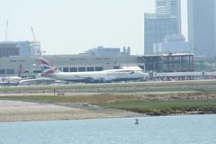 IMG_2581 (wmcgauran) Tags: boston airplane airport aircraft aviation boeing bos britishairways 747 eastboston kbos gbygd