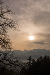6 Uhr morgens / 6 am (thunderbird-72) Tags: italien italy alps silhouette clouds view wolken it berge mai alpen ausblick sdtirol frhling dolomiten morgenlicht trentinoaltoadige longomoso nikkor1024f3545 nikond7100