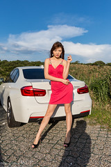 IMGL7841 (WCP(White Coat Photographer)) Tags: portrait girl canon model michelle f30 bmw   320i  5d3