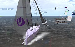OD65 @NYC - Let's get started... (vivipezz) Tags: nyc sailing sl secondlife od65