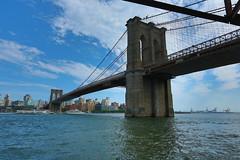 Brooklyn Bridge - New York Bridges in HDR (Dennis Goedegebuure) Tags: nyc bridge newyork brooklynbridge hdr newyorkbridges