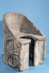 Ancient Rome. Marble Letrina (single toilet) (mike catalonian) Tags: marble letrina ancientrome
