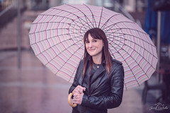 Portrait 50 out of 100. (Jordi Corbilla Photography) Tags: portrait london fashion umbrella nikon d750 canarywharf portraitwoman 100portraits portraitprofessional