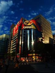 FUJIYA (MEG/TYO) Tags: street city light colour building japan tokyo ginza olympus    chuo fujiya    xz10