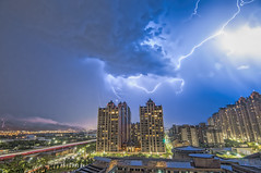 2016.06.29 (Instant Memory) Tags: city taiwan tokina nightview lightning 1120mm d300s