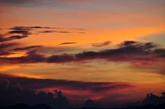 Sunrise at Adam's Peak, Sri Lanka (TareqD) Tags: travel blue sky orange colour clouds sunrise photography dawn nikon adams peak sri lanka tamron dalhousie pada d5000