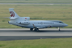 Hayat Air Dassault Falcon 7X TC-YHK (EK056) Tags: airport air falcon dsseldorf hayat dassault 7x tcyhk