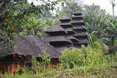 Pura Luhur Batukaru, leghtul a 7 szintes meru (sandorson) Tags: bali indonesia pura batukaru luhur indonzia