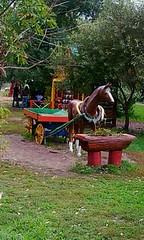. Wooden Horse (lubovhoney) Tags: wood summer horse squareformat woodensculpture  dmitrov     moscowregion    woodish  podmoscovye