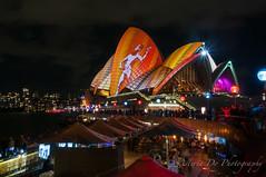 Around Vivid Sydney 2016 (Asteria D.) Tags: bridge light house art garden botanical zoo opera colours purple harbour year sydney culture vivid 9 number projection installation colourful taronga customs aboriginals 2016