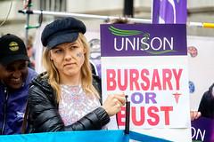Bursary or Bust June 2016 - 03 (garryknight) Tags: london march student education rally protest samsung nurse tuition lightroom bursary nx2000 ononephoto10 bursaryorbust