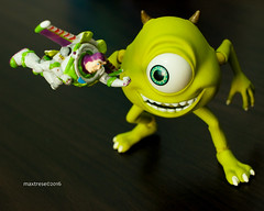 DSC00069-1.jpg (maxtrese) Tags: mike buzz toy toystory rement monstersinc toyphotography revoltech