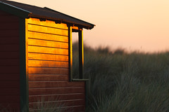 Summer Evening (Hkan Dahlstrm) Tags: sunset orange beach architecture photography se skne cabin sweden uncropped falsterbo 2016 f32 skneln ef200mmf28lusm badhytt canoneos5dmarkii 1320sek skanrmedfalsterbo 25104062016211659