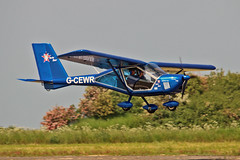 G-CEWR Aeroprakt A.22-L Foxbat C S Bourne & G P Wiley Sturgate Fly In 05-06-16 (PlanecrazyUK) Tags: sturgate egcs fly in 050616 lincoln aero club ltd gcewr aeroprakta22lfoxbat csbournegpwiley fly in