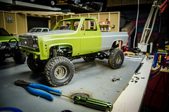 K10 Bed Build (Strangely Different) Tags: truck 4x4 hobby chevy radiocontrolled k10 crawler axial c10 tinytrucks rc4wd scx10 scalerc gelande2