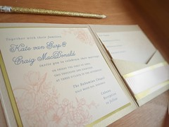 Kate & Craig Closeup (dulynotedstationery) Tags: wedding stationery invite invitations
