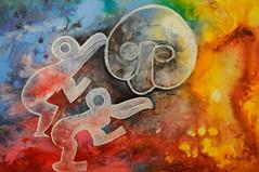 """Inauguracin muestra """"Rapa Nui: Realidad y Ensueo en Galera Comunitaria Casa Colorada (I. Municipalidad de Santiago) Tags: chile santiago rapanui 2016 casacolorada municipalidaddesantiago toh stgocultura ricardogabella"""