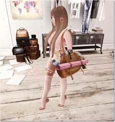 Ready for yoga lesson (+Cocoro+) Tags: fashion furniture interior secondlife bazar floorplan zenith taketomi aptb maitreya marukin kalopsia l2studio