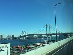 Rainbow Bridge, Tokyo (illustratedlibrarian) Tags: rainbowbridge tokyo
