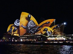 Sydney Vivid - Animals crawling over the Opera House (Marian Pollock - Thanks for a million+ views) Tags: night lights australia nsw stunning operahouse lightshow sydneyvivid crawlinganimals