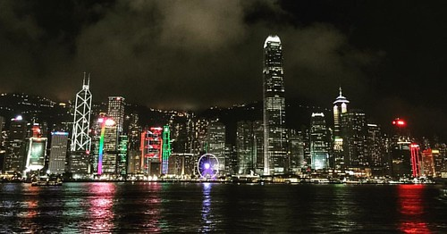 #TGIF....Friday night and then weekend  in HK