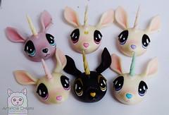 Pre-order unicorns WIP (Craia) Tags: cute art animal fur stuffed doll artist handmade manga artificial plush dreams kawaii resin unicorn polyurethane poseable craia