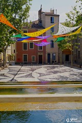 NMES, LA VILLE GALLO-ROMAINE (Gilles Poyet photographies) Tags: ville place nmes france