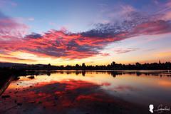 2016-06-25  (Steven Weng) Tags: cloud sunrise canon taiwan taipei  skyfire  ef1740 eos5d2