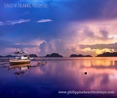 Philippine Beach Holidays (philbeachholidays) Tags: sunset palawan philippinebeachholidays