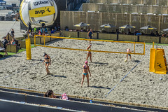 sf open beach volleyball prelims (pbo31) Tags: sanfrancisco california city summer woman game color net beach sport june female court sand nikon over suit embarcadero bayarea volleyball bathing southbeach avp 2016 boury pbo31 pier30 d810