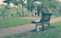 (victorcamilo) Tags: cidade brazil people brasil photoshop canon cores pessoa flickr place pastel seat sunday ngc photojournalism banco places run momento rest moment fotografia domingo caminhada lugar caminho descanso gois fotojornalismo goiania canonlens flamboyantpark respit parqueflamboyant lugaresdobrasil lugaresdomundo victorcamilo victorcamio