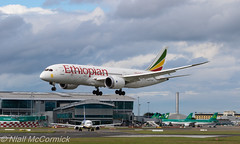 ET-AOU Ethiopian Airlines Boeing 787-8 Dreamliner (Niall McCormick) Tags: dublin airport aircraft boeing airlines airliner ethiopian dreamliner 7878 eidw etaou