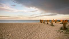 last of the light (David Raynham) Tags: uk sunset sea summer england sand nikon ngc norfolk d750 fullframe fx greatyarmouth eastcoast 2016 sigma24mmf14art