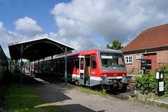 P2320798 (Lumixfan68) Tags: 628 eisenbahn schnberg hein vt zge triebwagen baureihe dieseltriebwagen verbrennungstriebwagen westfrankenbahn