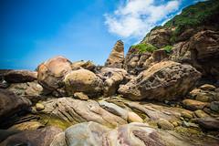 GTJ-2016-0630-2 (goteamjosh) Tags: ocean mountain landscape  taiwan erosion pacificocean    nanya northcoast rockformation northeastcoast   nanyapeculiarrocks newtaipei nanyarockformation   newtaipeicity