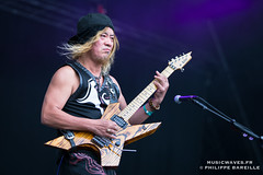 Loudness @ Hellfest 2016, Clisson | 18/06/2015 (Philippe Bareille) Tags: loudness hardrock japaneserock hellfest clisson france mainstage 2016 music live livemusic festival openair show concert gig stage band rock rockband metal heavymetal canon eos 6d canoneos6d musicwavesfr japanese musique artiste scne akiratakasaki guitarist guitarplayer